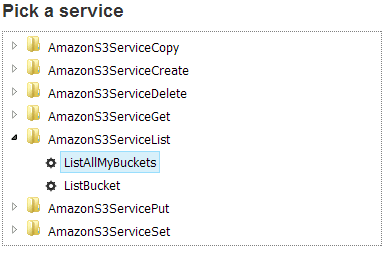 Amazon S3 SOAP API operations - WSDL to php