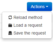 Save your requests : method actions - WSDL to php